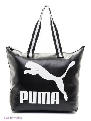 Сумка Archive Large Shopper P Puma. Цвет: белый, черный