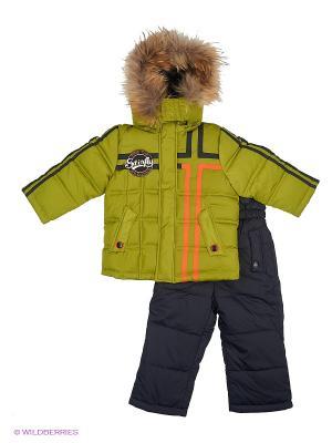 Комплект одежды Steen Age. Цвет: хаки