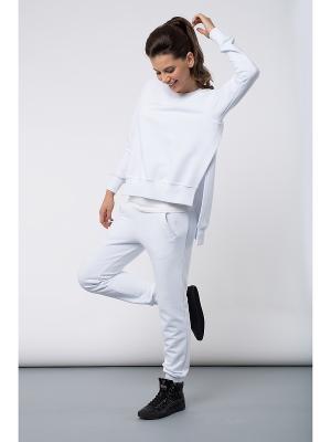 Спортивный костюм BORODINA KSENIA. Цвет: белый