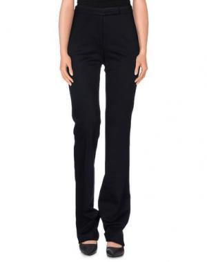 Повседневные брюки PESERICO SIGN. Цвет: темно-синий