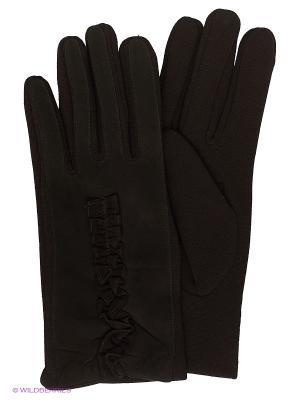 Перчатки Pur. Цвет: черный