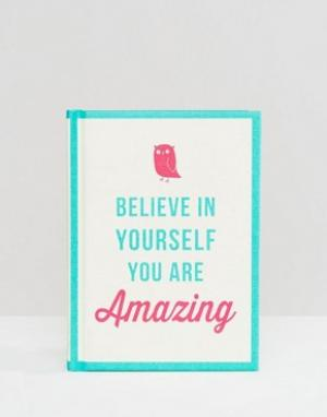 Books Believe In Yourself You Are Amazing. Цвет: мульти