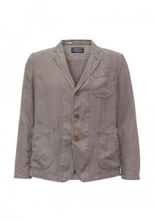 Пиджак Replay. Цвет: серый