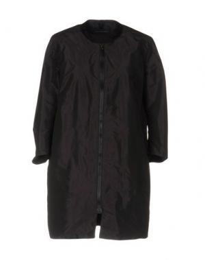 Легкое пальто AQUARAMA. Цвет: баклажанный