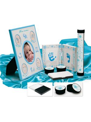 Набор подарочный для новорождённого МОЙ МАЛЫШ BRADEX. Цвет: голубой