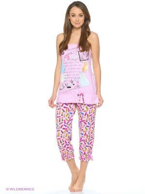 Пижама NICOLETTA. Цвет: розовый