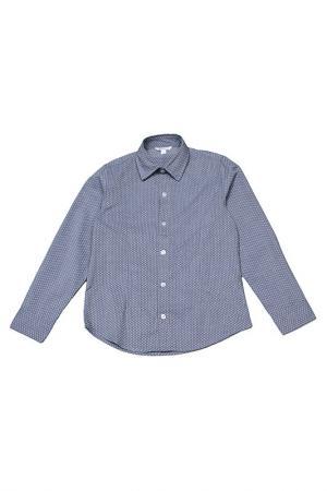 Рубашка Dodipetto. Цвет: синий