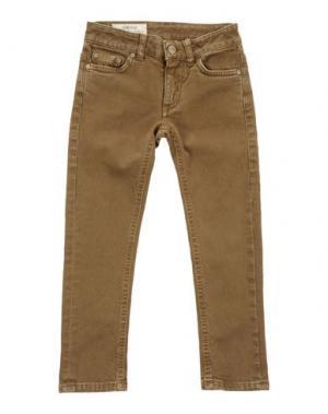 Джинсовые брюки DONDUP DQUEEN. Цвет: хаки