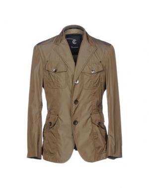 Куртка CALVARESI. Цвет: зеленый-милитари