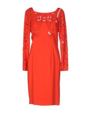 Короткое платье ZUHAIR MURAD. Цвет: красный