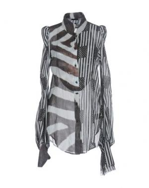 Pубашка IF SIX WAS NINE. Цвет: серый