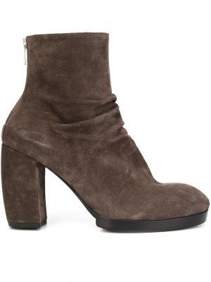 Ботинки по щиколотку Officine Creative. Цвет: коричневый