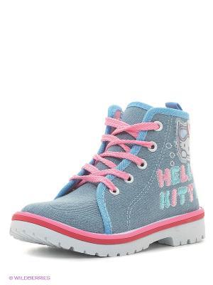 Ботинки Kakadu. Цвет: голубой