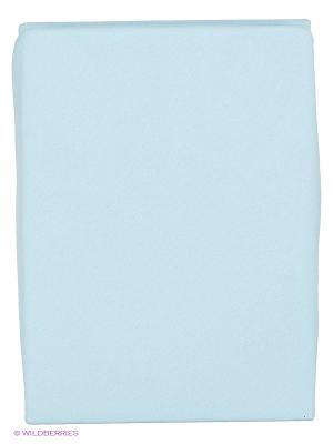 Простыня на резинке Kupu KPV-180. Цвет: голубой