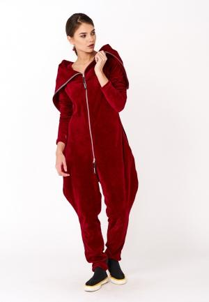 Комбинезон Monosuit. Цвет: красный