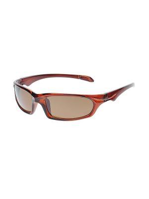Очки солнцезащитные Infiniti. Цвет: коричневый