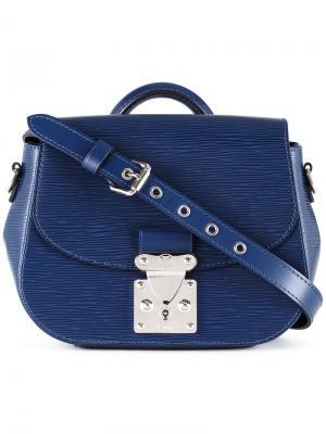 Eden shoulder bag Louis Vuitton Vintage. Цвет: синий