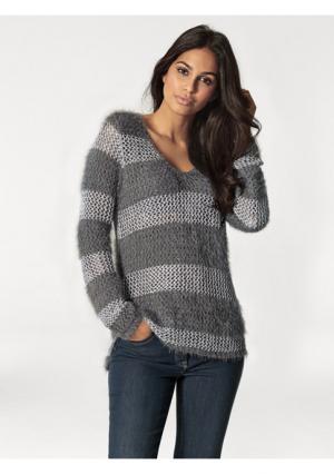 Пуловер RICK CARDONA by Heine. Цвет: серый