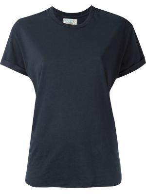 Классическая футболка Sandrine Rose. Цвет: синий