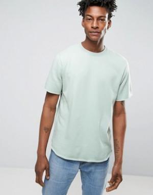 Edwin Футболка из махровой ткани. Цвет: зеленый