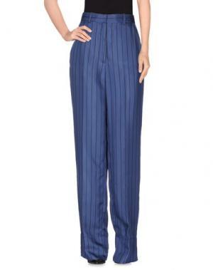 Повседневные брюки PROTAGONIST. Цвет: грифельно-синий