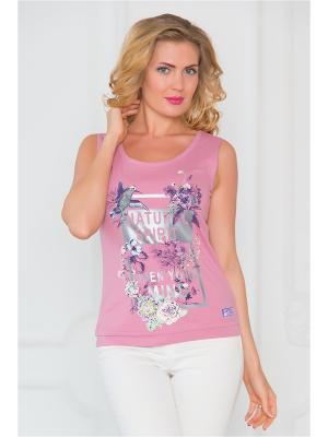 Майка Begood. Цвет: розовый, бледно-розовый
