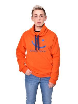 Свитшот LEKKA. Цвет: оранжевый
