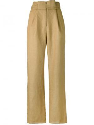 Классические брюки Cherevichkiotvichki. Цвет: коричневый