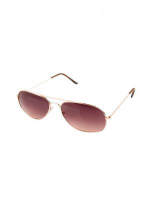 Солнцезащитные очки Funky Fish. Цвет: черный, золотистый