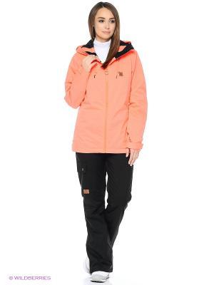 Куртка DC Shoes. Цвет: розовый
