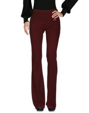 Повседневные брюки KORALLINE. Цвет: красно-коричневый