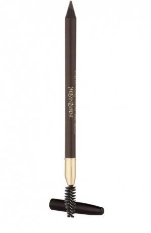 Карандаш для бровей, оттенок 4 YSL. Цвет: бесцветный