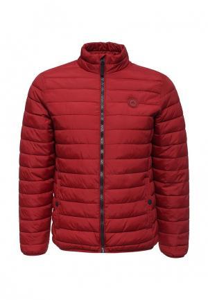 Куртка утепленная Springfield. Цвет: красный