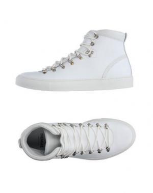 Высокие кеды и кроссовки DIEMME. Цвет: белый