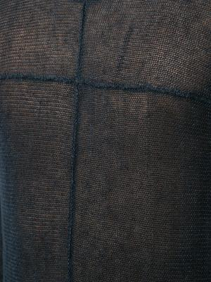 Прозрачный джемпер Ma+. Цвет: синий