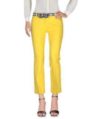 Повседневные брюки ALYSI. Цвет: желтый