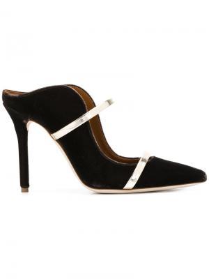 Туфли-лодочки Maureen Malone Souliers. Цвет: коричневый