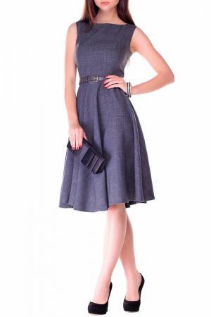 Платье-сарафан REBECCA TATTI. Цвет: серый