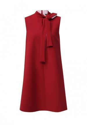 Платье Sportmax Code. Цвет: красный