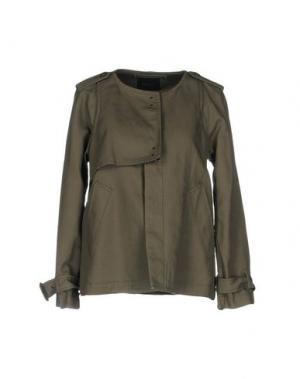Куртка ZUCCA. Цвет: хаки