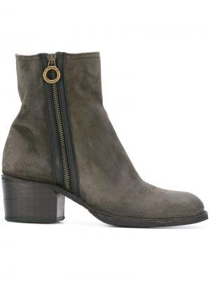 Ботинки на молнии  Fiorentini + Baker. Цвет: серый