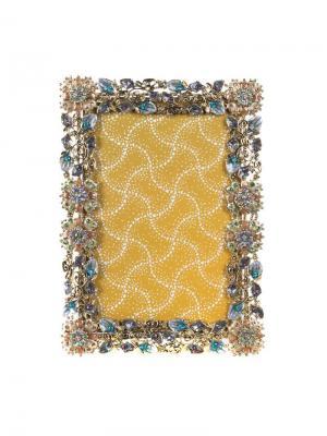 Рамка для фотографии 11,25х17,5 см Jia Cheng. Цвет: голубой, светло-голубой