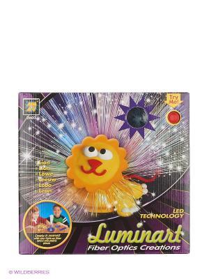 Набор Светящийся лев Diamant. Цвет: фиолетовый, красный, желтый, черный