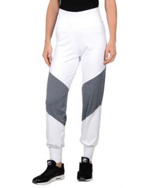 Повседневные брюки PORT DE BRAS. Цвет: белый