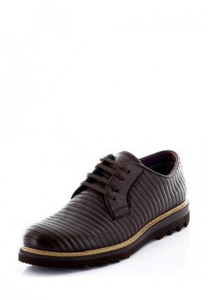 Ботинки Tonny Black. Цвет: коричневый