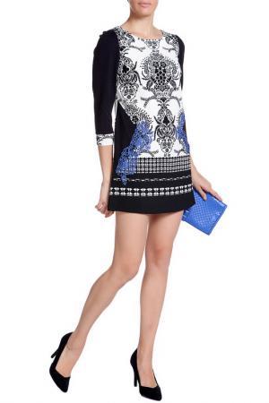Платье XS MILANO. Цвет: черно-белый