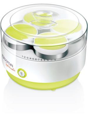 Йогуртница Maxima MYM-0154. Цвет: зеленый, белый