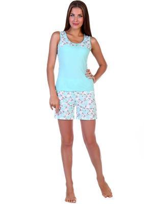 Пижамы Травиата Vilana. Цвет: салатовый