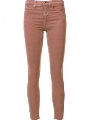 Джинсы  Legging Ag Jeans. Цвет: розовый и фиолетовый