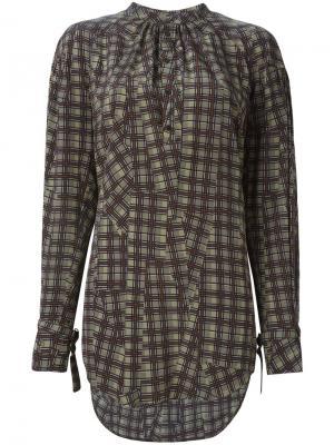 Блузка 162 Cosmopolitan A.F.Vandevorst. Цвет: зелёный